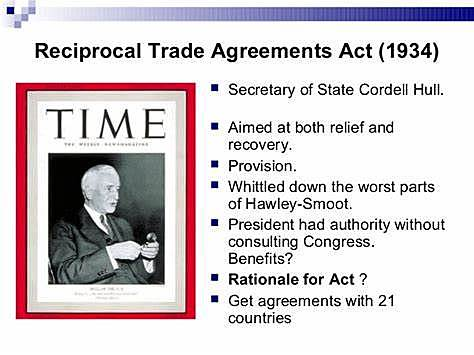 Reciprocal Trade Agreement Act