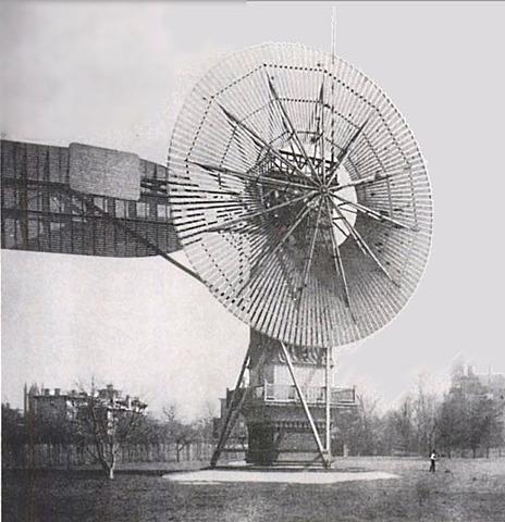 Charles Francis Brush | Première éolienne