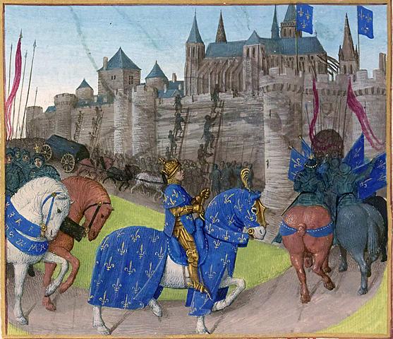 Grandes crónicas de Francia. (Versan sobre los s. XIII al XIV).