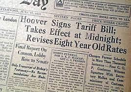 Smoot-Hawley Tariff