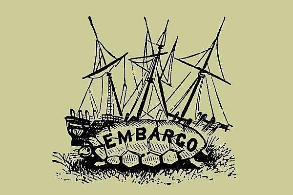 The Embargo Act was passed