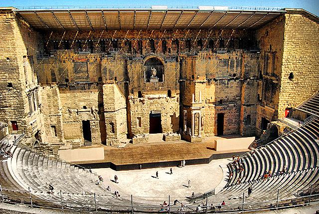 ROMA. Teatro romano de Orange, (Francia)
