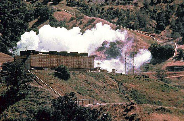 François de Larderel | Centrale géothermique