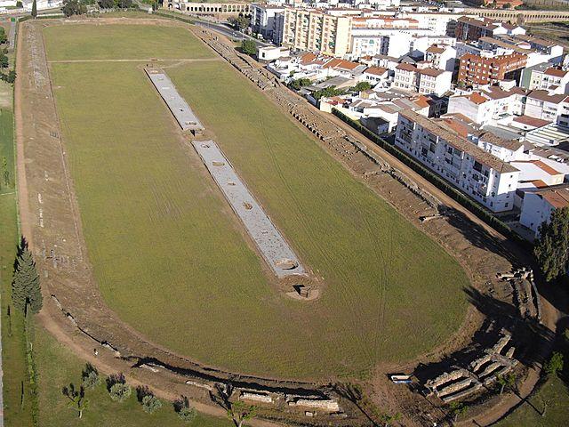 ROMA. Circo romano de Mérida, (España).
