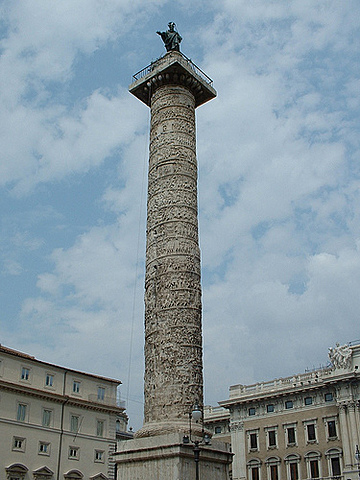 ROMA. Columna de Trajano, (Roma),