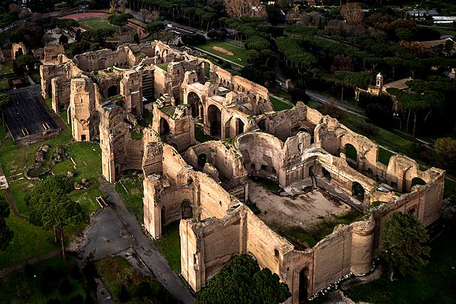 ROMA. Termas de Caracalla, (Roma)