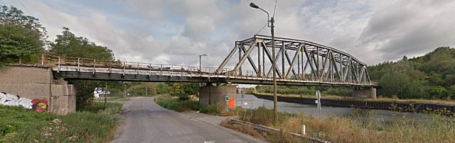 Pont-rail de Bayemont, Charleroi