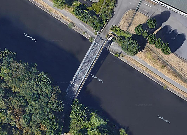 Pont du Poirier, Charleroi