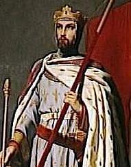 Luis VII de Francia. (1120-1180) (Trono 1137-1180). Dinastia Capeta.