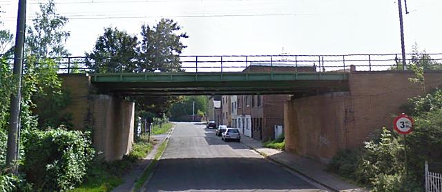 Pont de la rue de la Chapelle, Charleroi