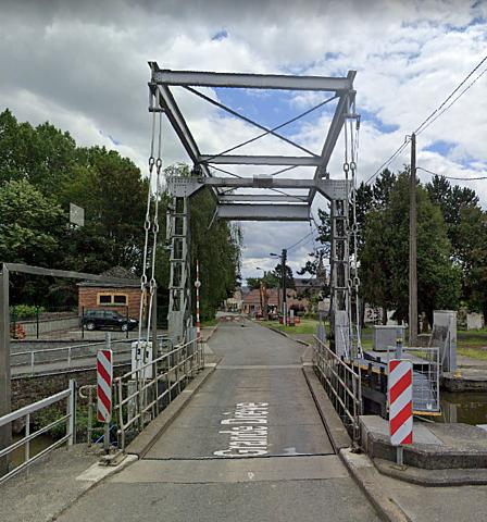 Pont-levis Ecluse 15, Chièvres