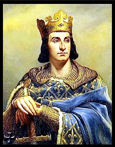 Felipe II de Francia. (1165-1223).(Trono 1180-1223) - 7º rey Dinastía de los Capetos.