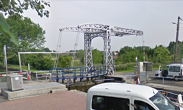 Pont-levis Ecluse 16, Chièvres