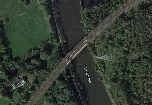 Pont-rail St Jacques, Farciennes