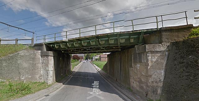 Pont du Chemin de Mons, Fleurus