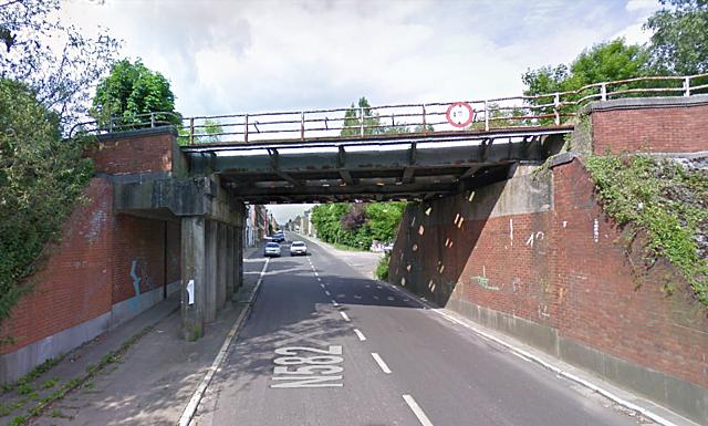Pont de la rue de Forchies, Fontaine-l-Evêque