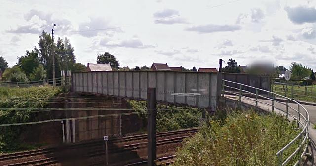 Pont de la rue du Moulin à Eau, Jurbise