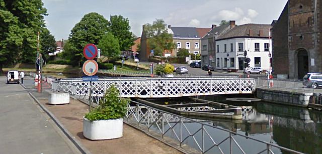 Pont tournant de Houdeng Aimeries, La Louvière