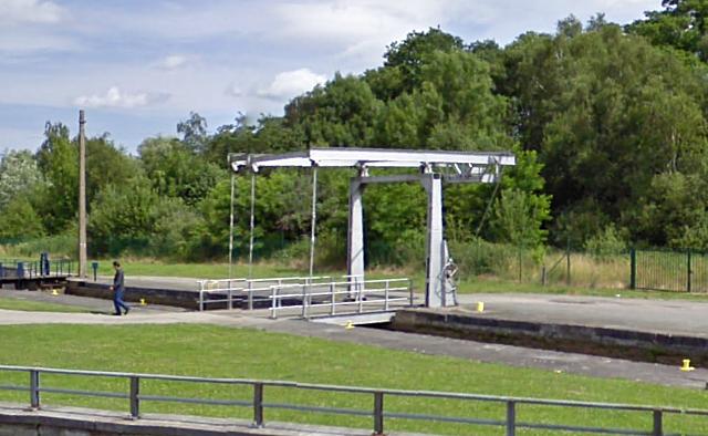 Pont-levis de l'Ecluse de Lessines, Lessines