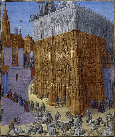 "Jean Fouquet ilustra: ""Antigüedades judías de Flavio Josefo""."