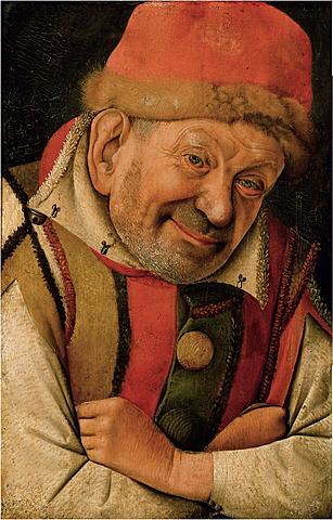 Retrato del bufón Gonella.
