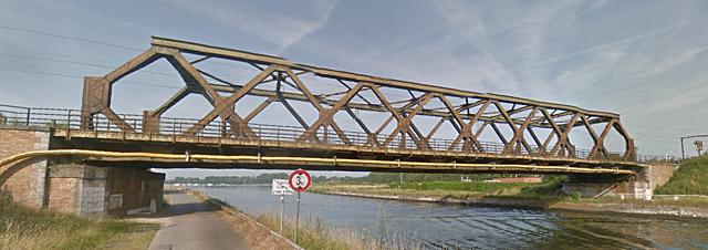 Pont ferroviaire de Nimy, Mons