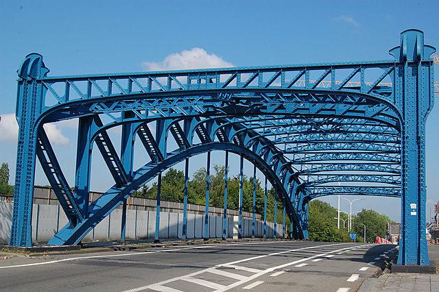 Pont de l'avenue de Jemappes, Mons