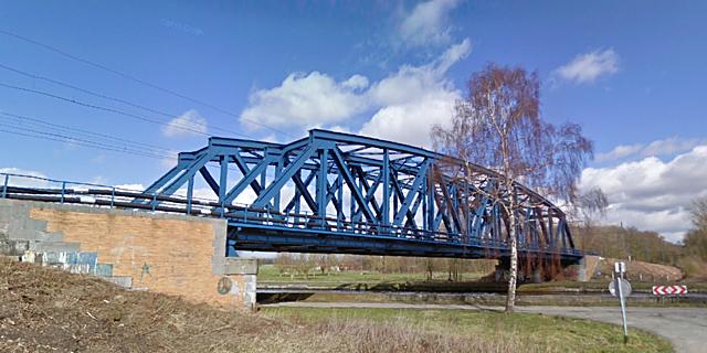 Pont sur le canal Blaton-Péronnes, Péruwelz