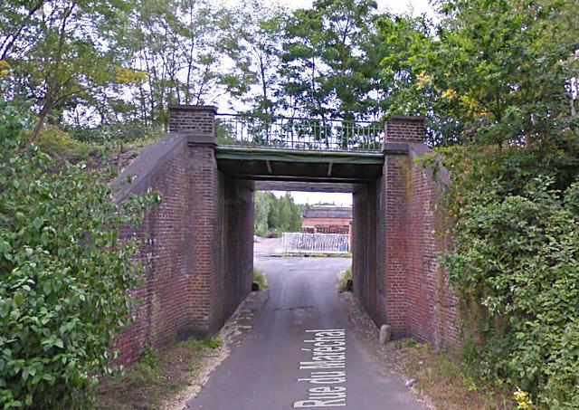Pont de la rue du Maréchal, St Ghislain