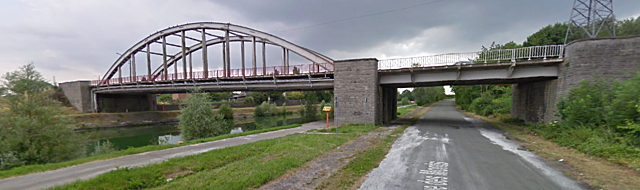 Pont de la rue de l'Enfer, St Ghislain