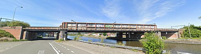 Pont des Roulages, Tournai