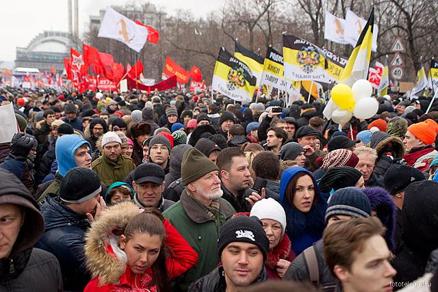 Протесты на Болотной Площади