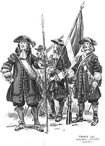 Envoie du régiment Carignan-Salières