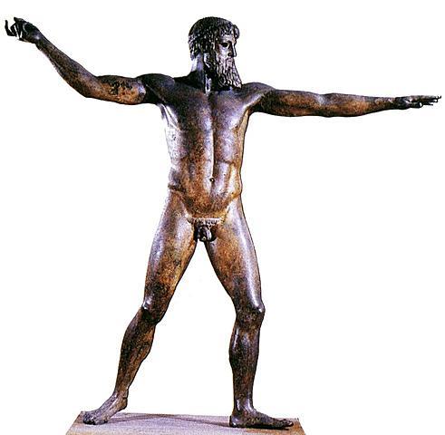GRECIA. El Poseidón de Artemision