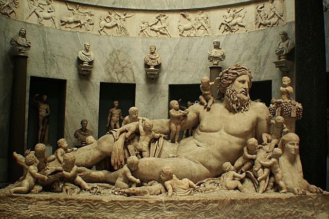 GRECIA. Alegoría del río Nilo