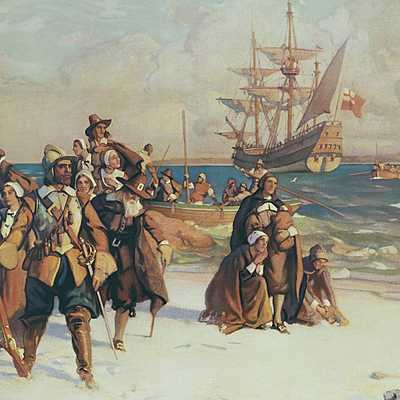 Major Historical Events in the United States from 1600 to 1700 timeline