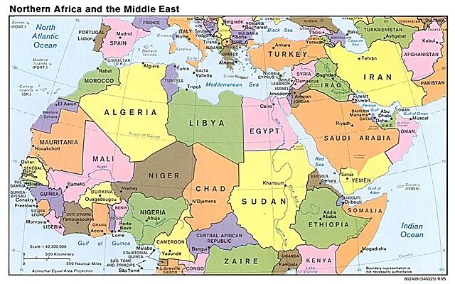 Relaciones África-Medio Oriente