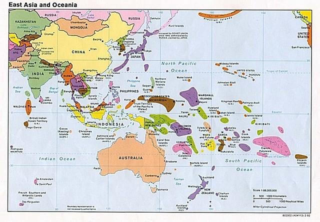 Relaciones con Asia-Pacífico