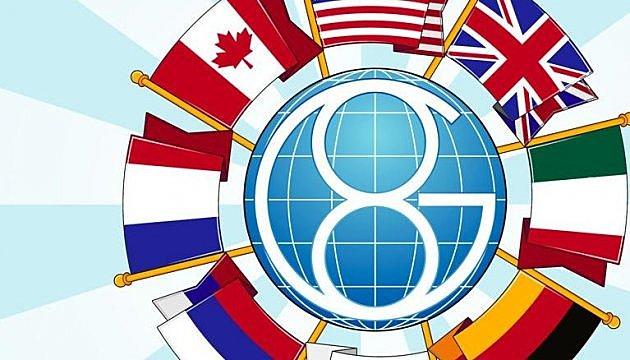 Participación mexicana en el G-8