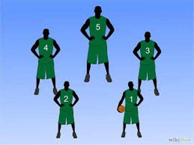 5 Jugadores por Equipo.