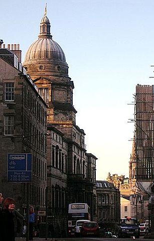 Ingreso en la Universidad de Edimburgo