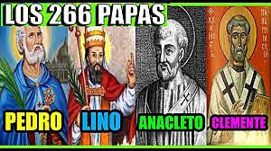 Primeros Papas S. Pedro. S. Lino. S.Anacleto S. Clemente
