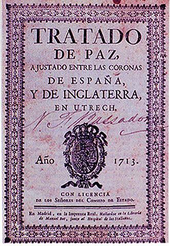 Tratado de Utrech ( 1713 )