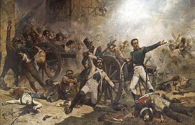 Guerra  de independencia española ( 1808 - 1814 )