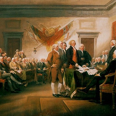 Major Historical Events in the United States from 1700 to 1800 timeline