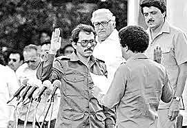 Portillo reconoce como legítimo gobierno de Nicaragua a la Junta Popular del Gobierno de reconstrucción.