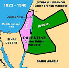 14 May 1948 End of the British Mandate over Palestine (Said, 2001)