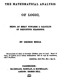 investigación de George Boogle