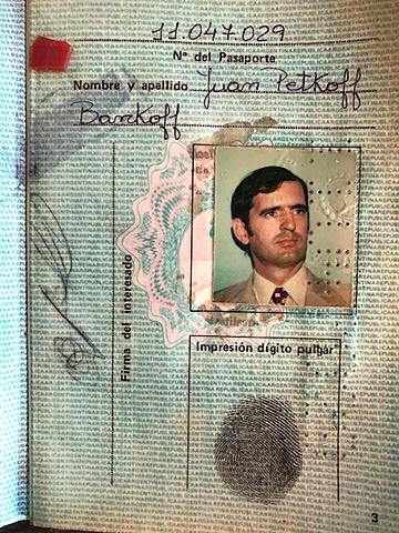 Juan, el argentino.