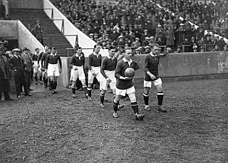 England's first game at Wembley